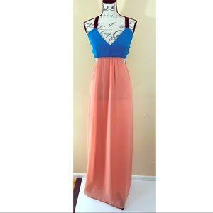 13fec1b429 Honey Punch Dresses | Boho Pastel Colors Beach Maxi Dress S | Poshmark